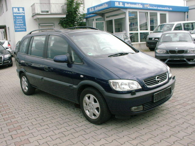 2001 opel zafira pictures 2200cc gasoline ff automatic for sale. Black Bedroom Furniture Sets. Home Design Ideas