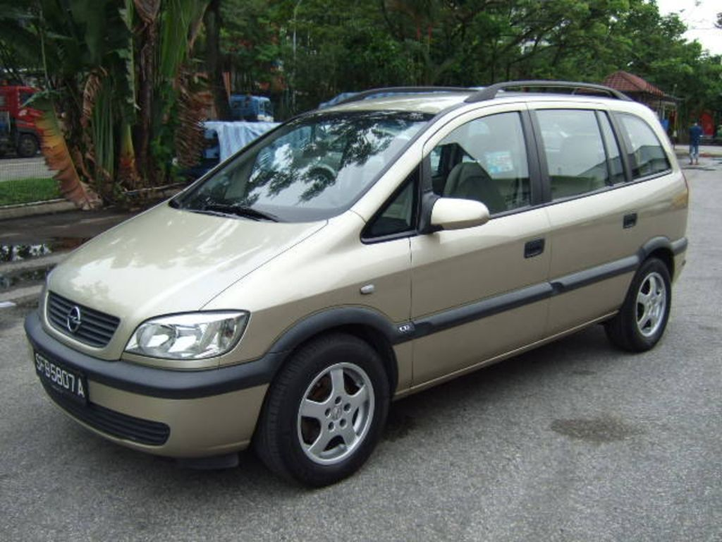2002 opel zafira pictures 1800cc gasoline ff automatic for sale