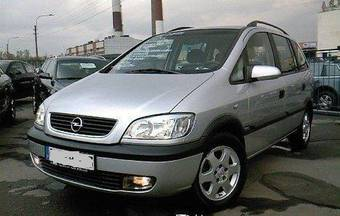 2002 opel zafira pictures 1800cc gasoline ff manual for sale. Black Bedroom Furniture Sets. Home Design Ideas