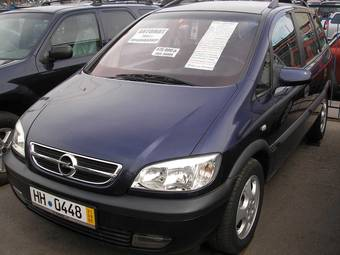 2002 opel zafira photos 1 8 gasoline ff automatic for sale. Black Bedroom Furniture Sets. Home Design Ideas