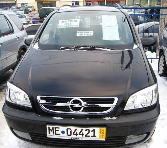 2004 opel zafira pictures. Black Bedroom Furniture Sets. Home Design Ideas