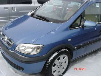 2004 OPEL Zafira Pictures