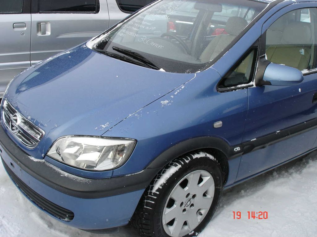 opel zafira 2004 the image kid has it. Black Bedroom Furniture Sets. Home Design Ideas