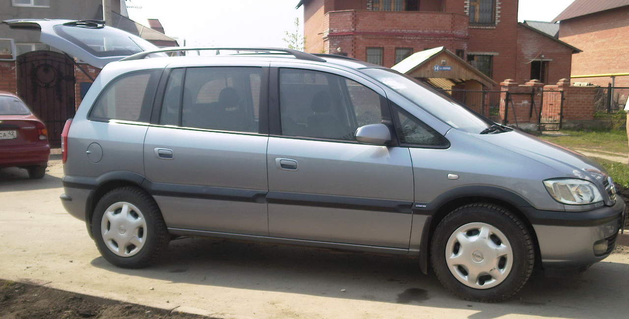 2004 opel zafira pictures 1800cc gasoline ff manual for sale. Black Bedroom Furniture Sets. Home Design Ideas