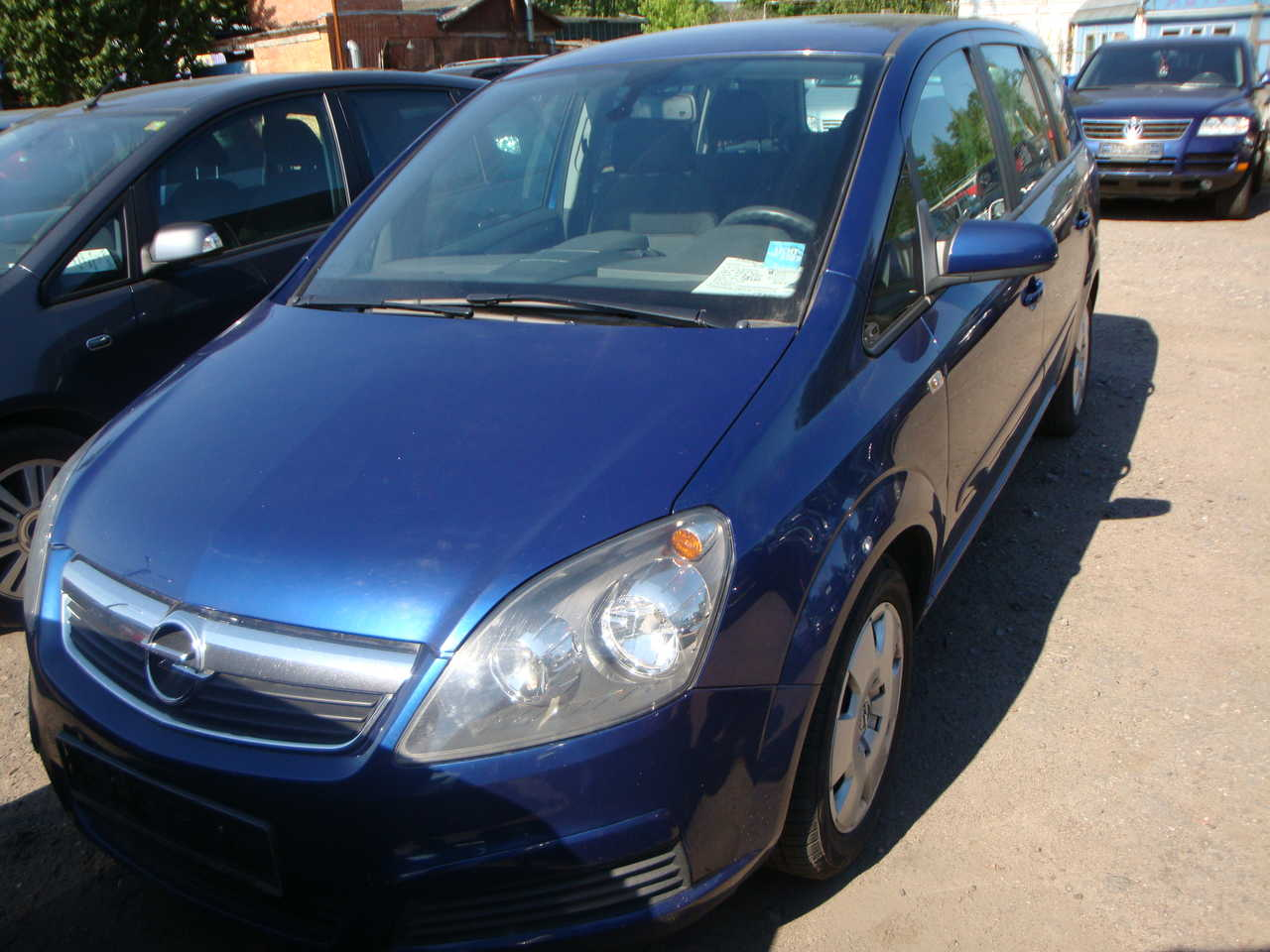 2006 opel zafira pictures diesel ff for sale. Black Bedroom Furniture Sets. Home Design Ideas