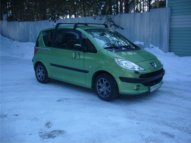 2007 peugeot 1007 photos 1 4 gasoline ff automatic for sale. Black Bedroom Furniture Sets. Home Design Ideas