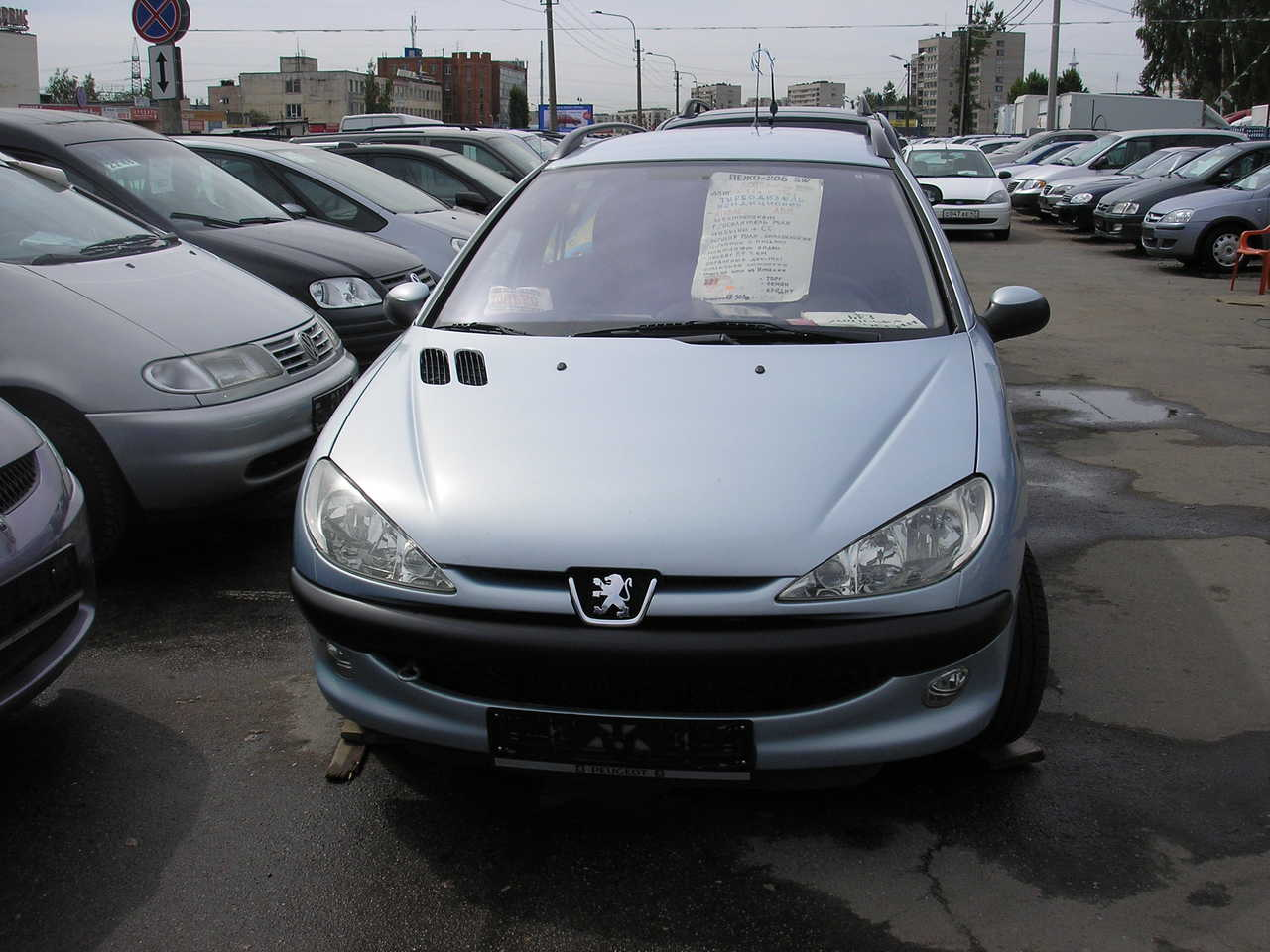 Used 2005 Peugeot 206 Photos, 1400cc., sel, FF For Sale