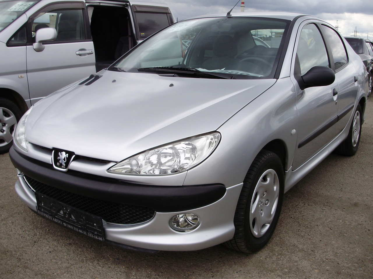 used 2007 peugeot 206 sedan photos 1400cc gasoline ff manual for sale. Black Bedroom Furniture Sets. Home Design Ideas