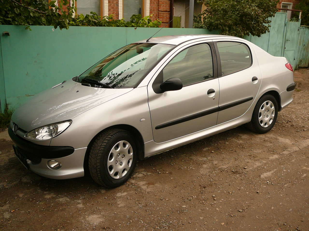 2007 peugeot 206 sedan images 1400cc gasoline ff manual for sale. Black Bedroom Furniture Sets. Home Design Ideas