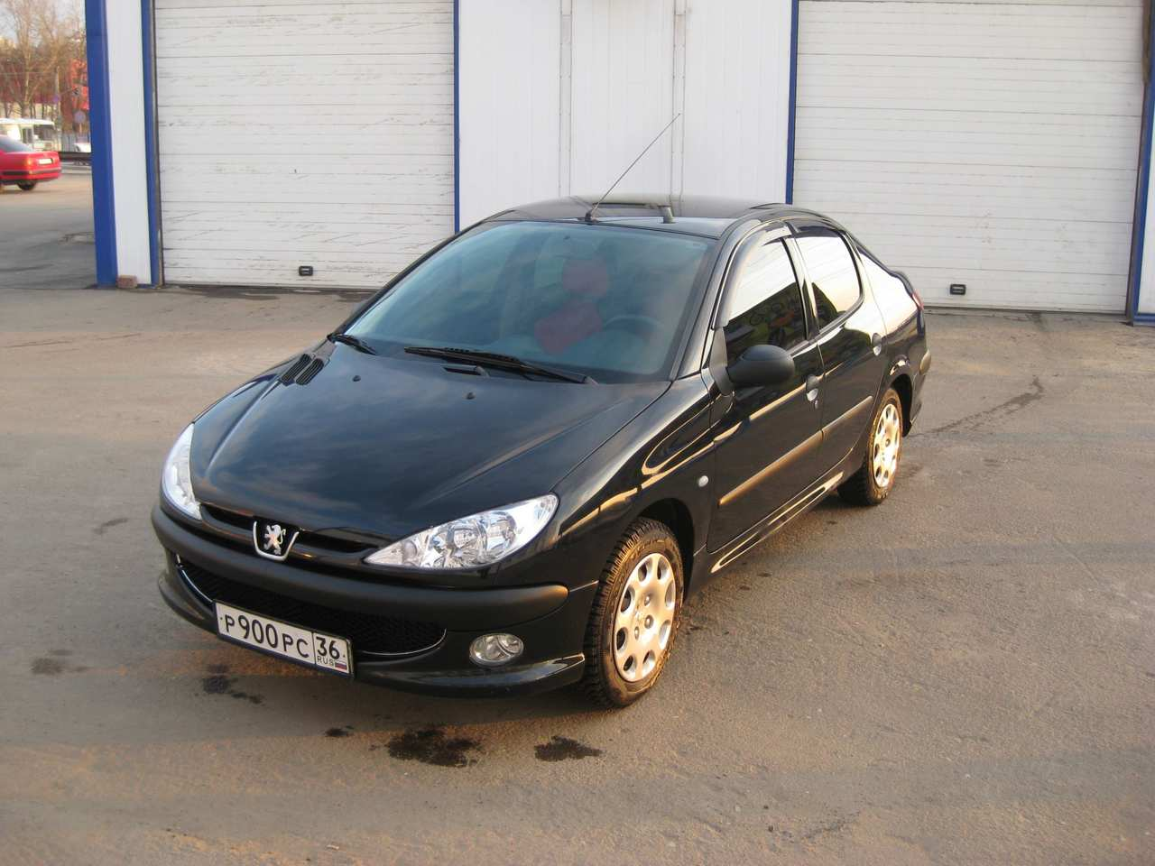 2008 peugeot 206 sedan pictures gasoline ff manual for sale. Black Bedroom Furniture Sets. Home Design Ideas