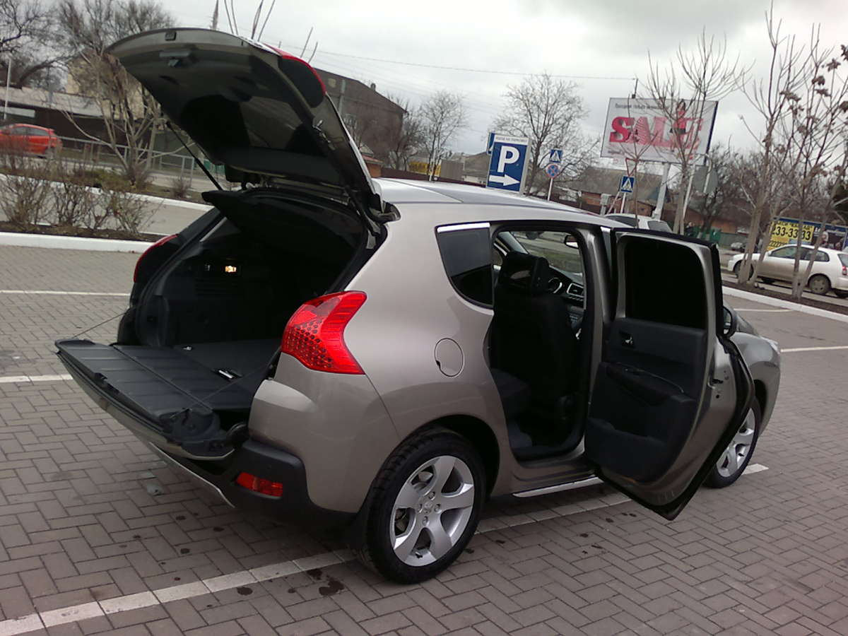 2011 peugeot 3008 pictures gasoline ff manual for sale. Black Bedroom Furniture Sets. Home Design Ideas