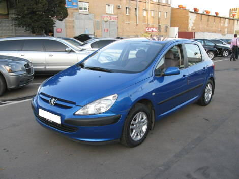 2001 peugeot 307 photos 1600cc gasoline ff manual for sale. Black Bedroom Furniture Sets. Home Design Ideas