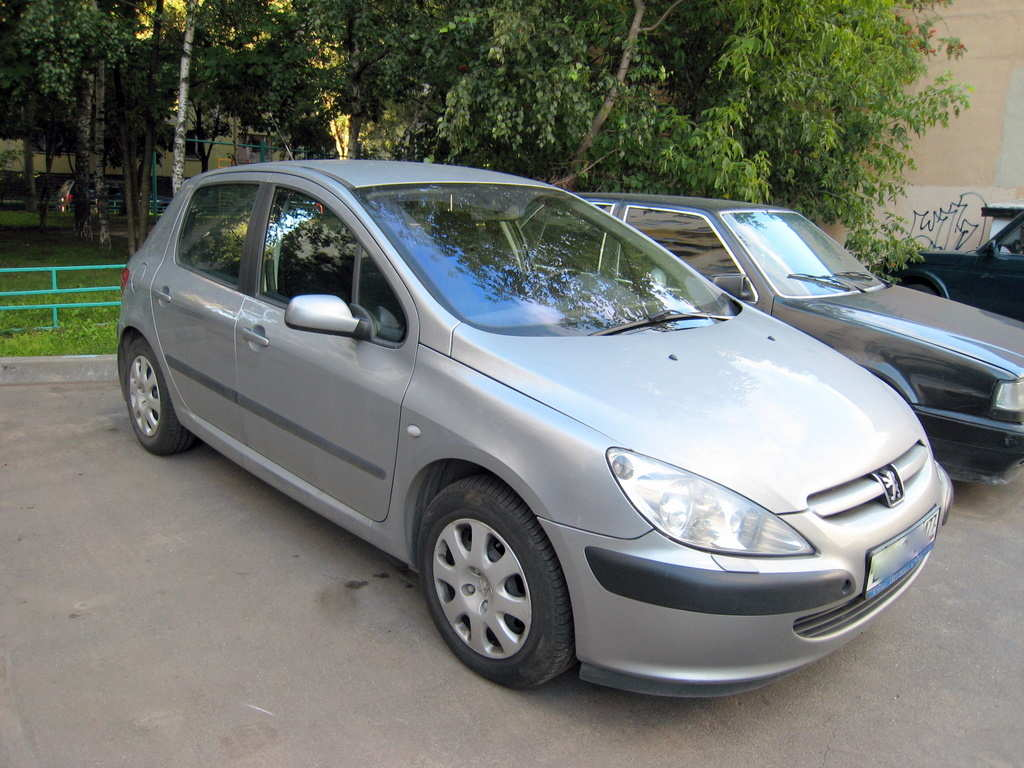 used 2002 peugeot 307 photos, 1600cc., gasoline, ff, manual for sale