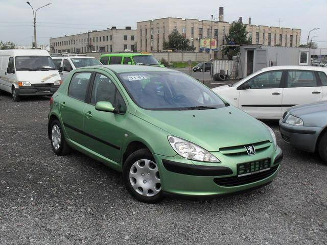 2002 peugeot 307 pictures gasoline ff manual for sale. Black Bedroom Furniture Sets. Home Design Ideas