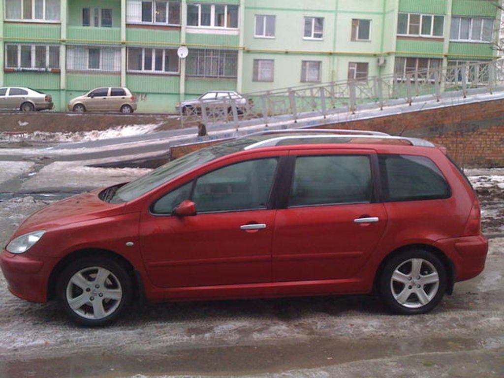 2003 peugeot 307 pictures 1600cc gasoline ff automatic for sale. Black Bedroom Furniture Sets. Home Design Ideas