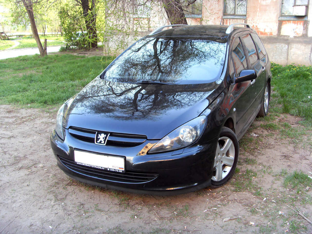 used 2003 peugeot 307 photos 1997cc gasoline ff automatic for sale. Black Bedroom Furniture Sets. Home Design Ideas