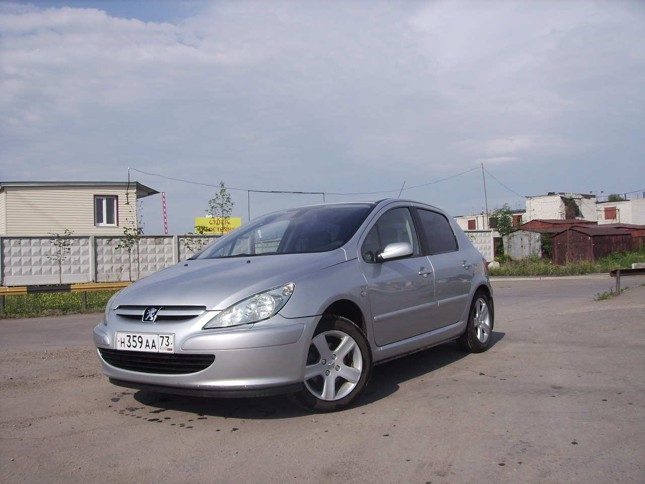 2003 peugeot 307 photos 1 6 gasoline ff manual for sale. Black Bedroom Furniture Sets. Home Design Ideas