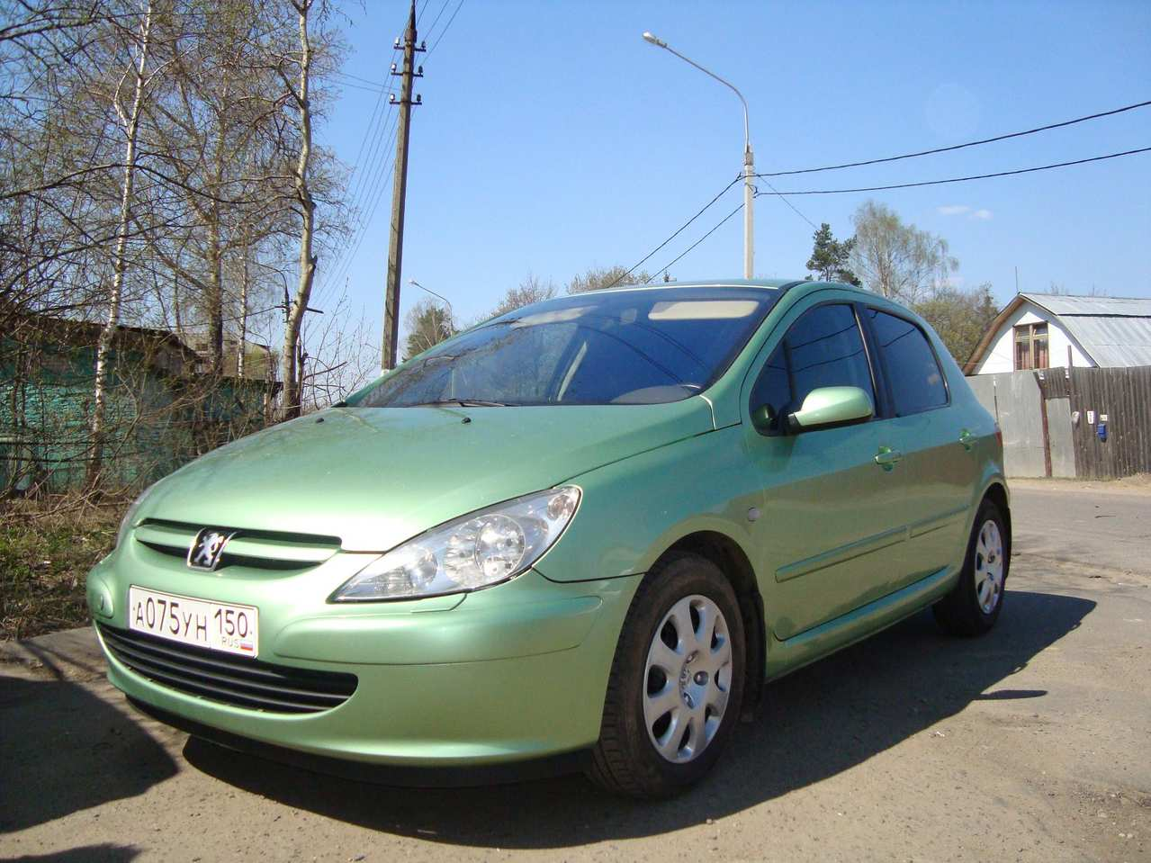 2004 peugeot 307 photos 1 6 gasoline ff automatic for sale. Black Bedroom Furniture Sets. Home Design Ideas