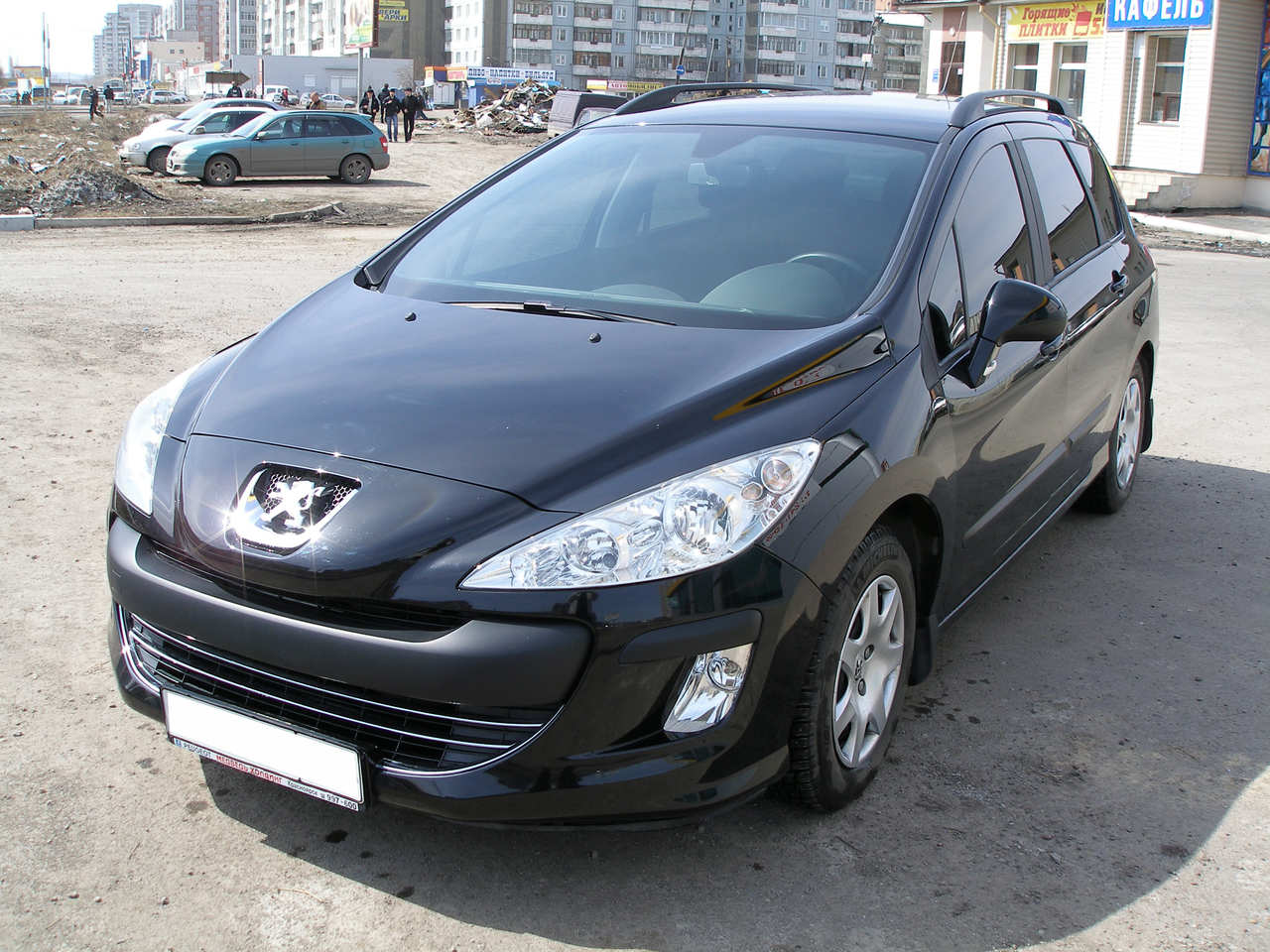 2009 peugeot 308 sw photos 1 6 gasoline ff automatic for sale. Black Bedroom Furniture Sets. Home Design Ideas