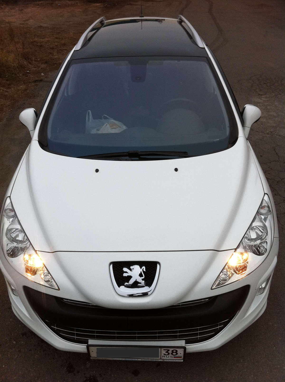 2010 peugeot 308 sw pictures gasoline ff automatic for sale. Black Bedroom Furniture Sets. Home Design Ideas