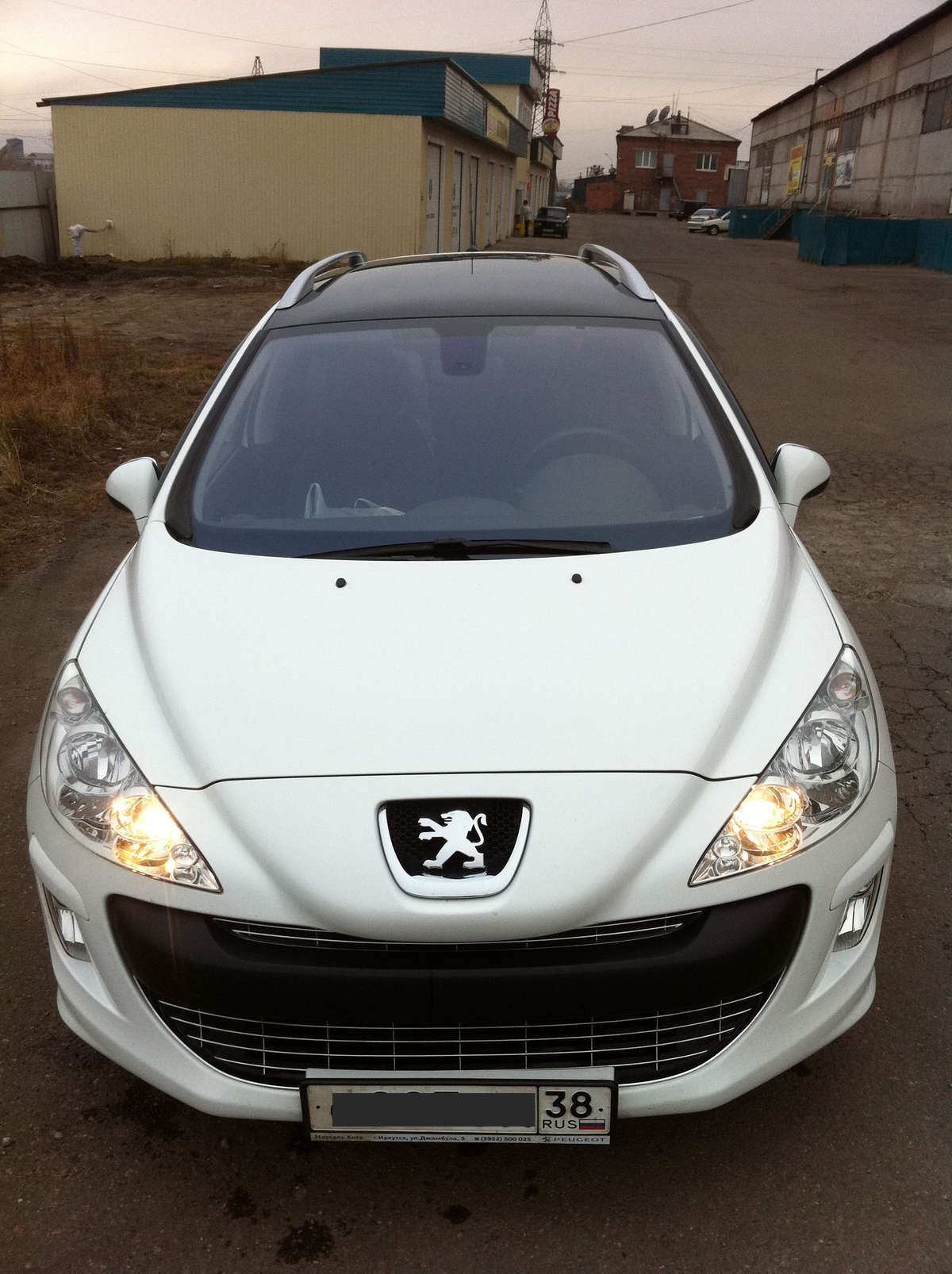 2010 peugeot 308 sw pics 1 6 gasoline ff automatic for sale. Black Bedroom Furniture Sets. Home Design Ideas