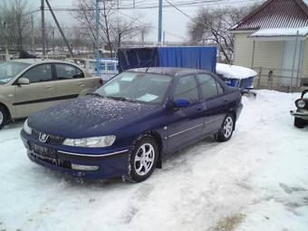 2000 peugeot 406 pictures gasoline ff automatic for sale. Black Bedroom Furniture Sets. Home Design Ideas