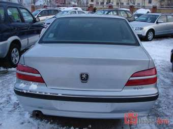 2001 Peugeot 406 Pictures