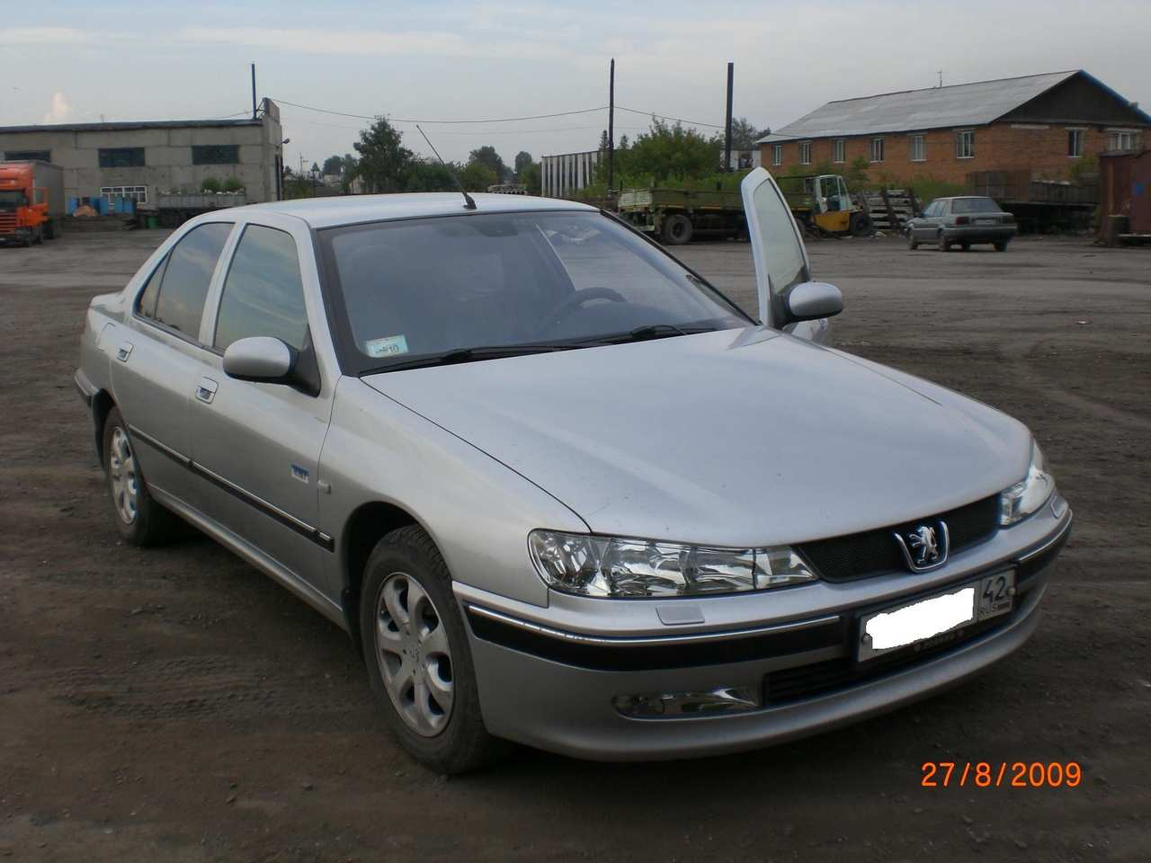 2003 Peugeot 406 Photos, 2.0, Gasoline, FF, Manual For Sale