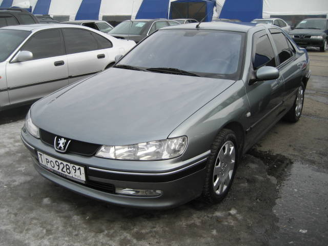 2004 Peugeot 406 Pictures, 1.8l., Gasoline, FF, Manual For Sale