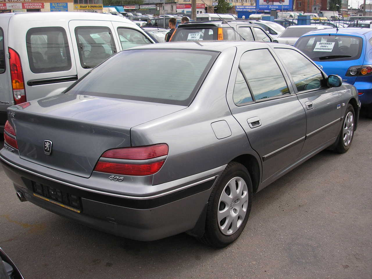 2004 peugeot 406 photos gasoline ff automatic for sale