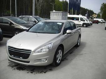 2012 peugeot 508 pictures 1600cc gasoline ff automatic for sale. Black Bedroom Furniture Sets. Home Design Ideas