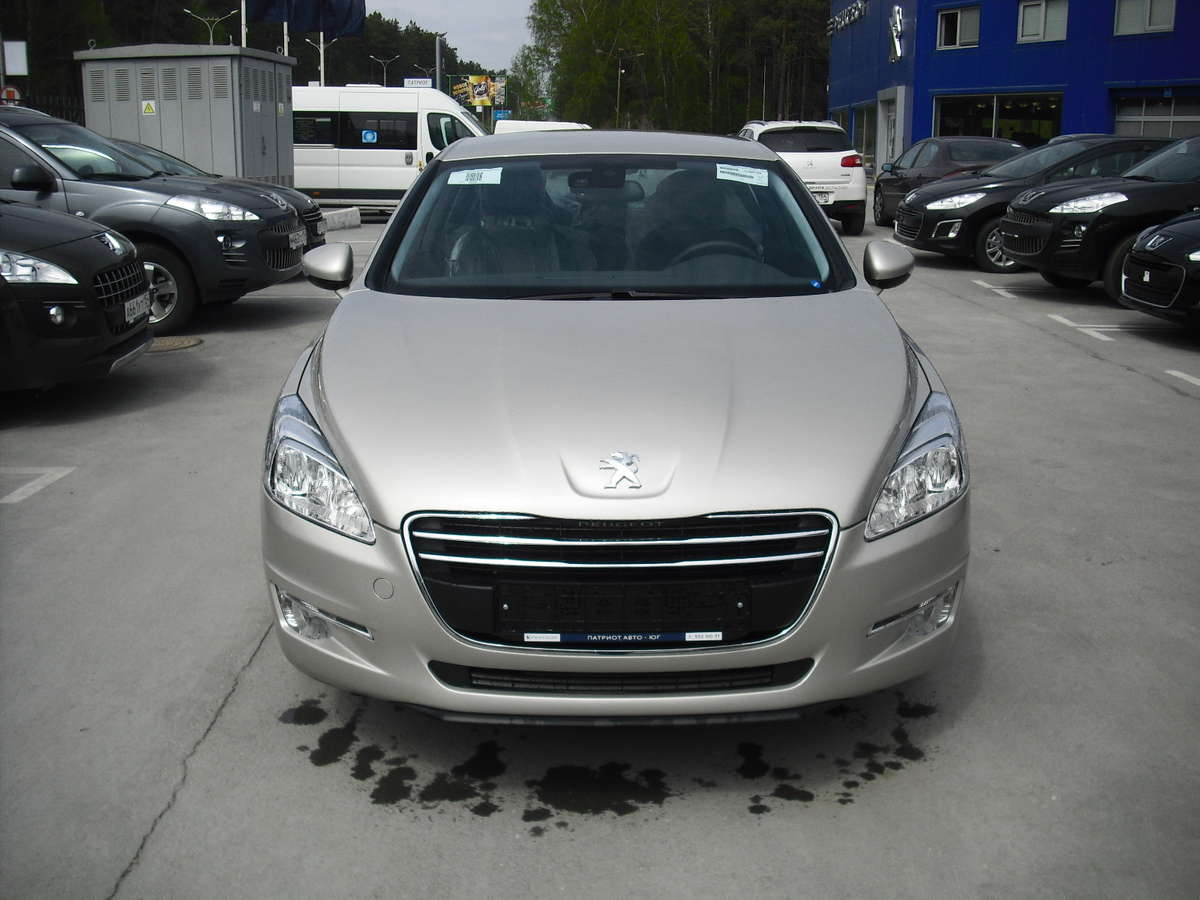 2012 peugeot 508 pictures gasoline ff automatic for sale. Black Bedroom Furniture Sets. Home Design Ideas