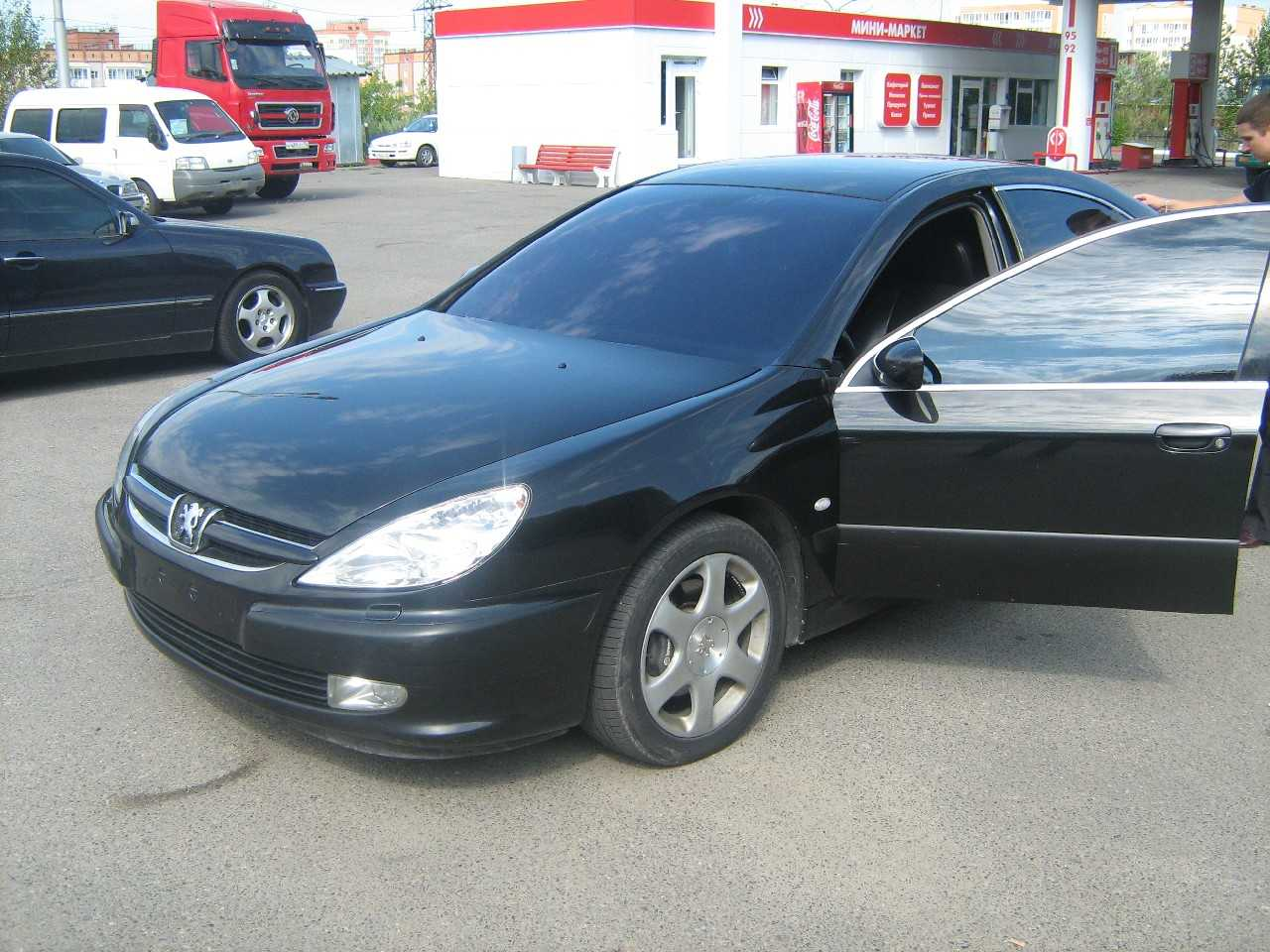 used 2003 peugeot 607 photos 3000cc gasoline ff automatic for sale. Black Bedroom Furniture Sets. Home Design Ideas