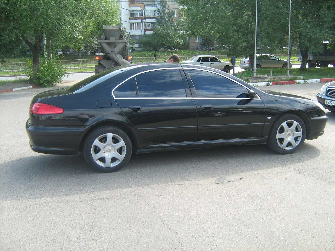 2003 peugeot 607 pictures gasoline ff automatic for sale. Black Bedroom Furniture Sets. Home Design Ideas