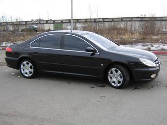 2004 Peugeot 607 Pictures