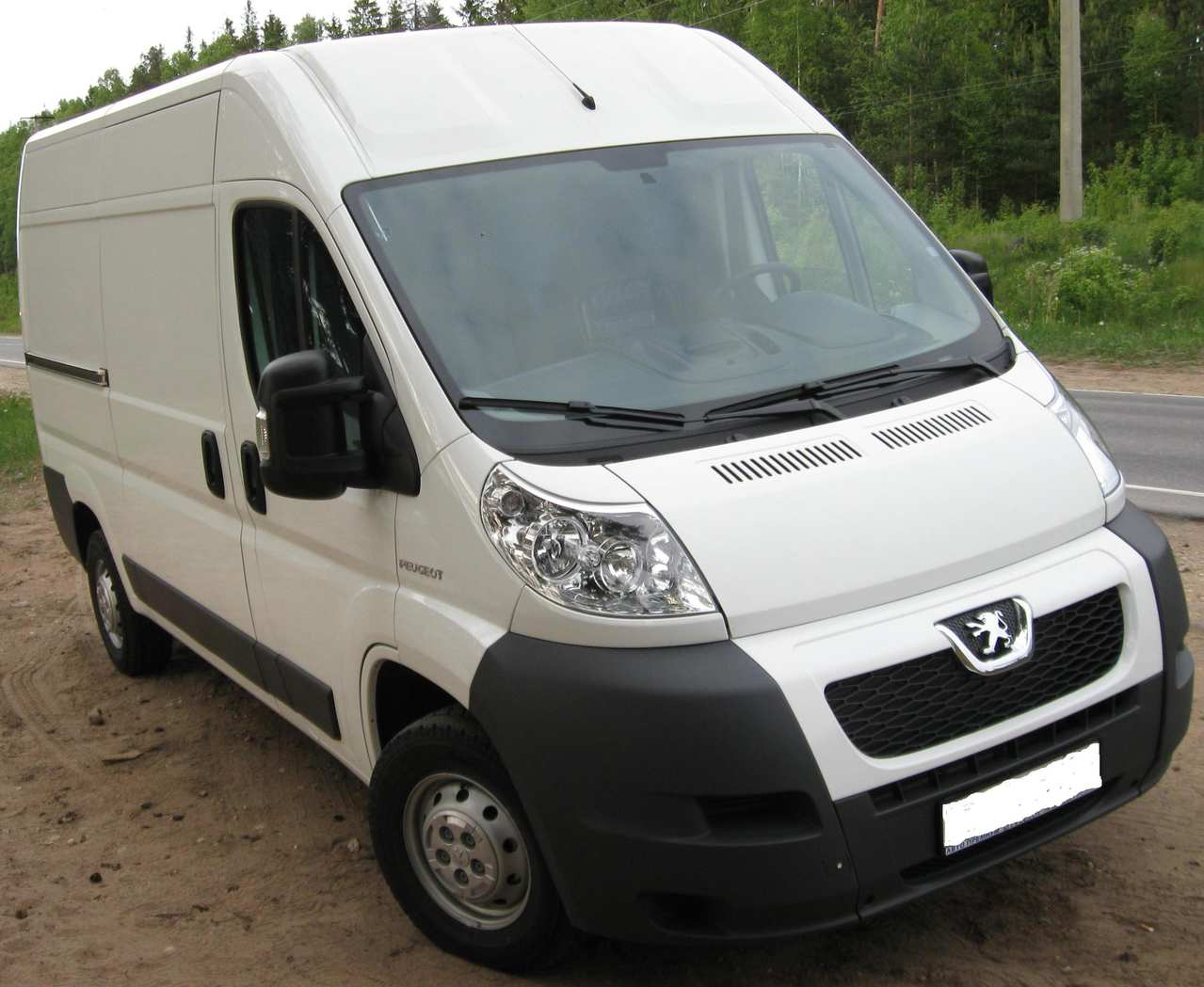 2009 peugeot boxer pictures, 2200cc., diesel, ff, manual for sale