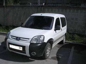 2007 peugeot partner pictures, 1.4l., gasoline, ff, manual for sale