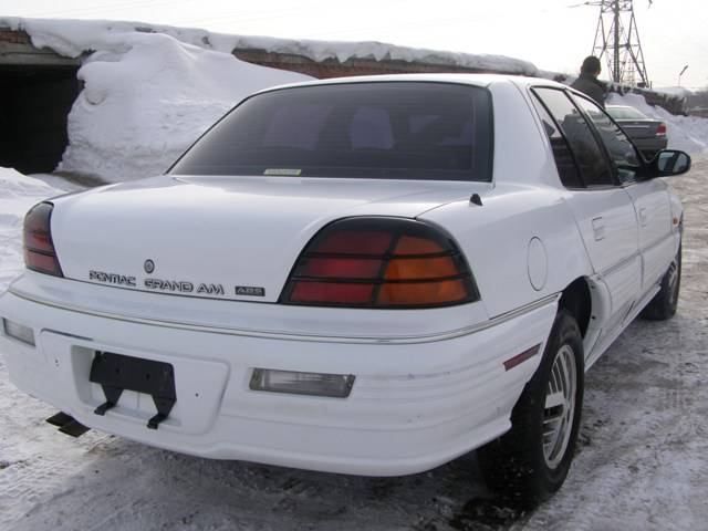 1994 Pontiac Grand Am For Sale 2 4 Gasoline Ff