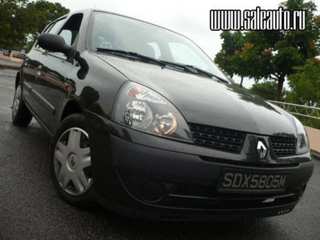 2002 renault clio for sale. Black Bedroom Furniture Sets. Home Design Ideas