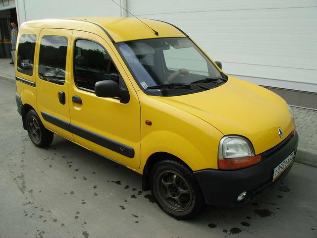 2002 renault kangoo pictures 1400cc gasoline ff manual for sale