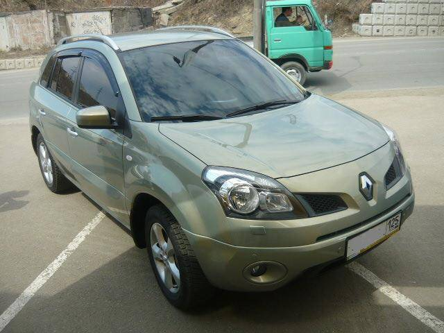 used 2008 renault koleos photos 2500cc gasoline automatic for sale. Black Bedroom Furniture Sets. Home Design Ideas