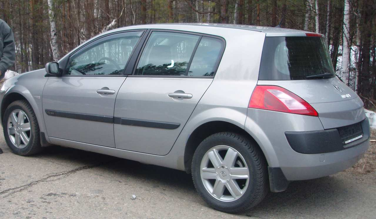 used 2004 renault megane photos 1600cc gasoline ff automatic for sale. Black Bedroom Furniture Sets. Home Design Ideas
