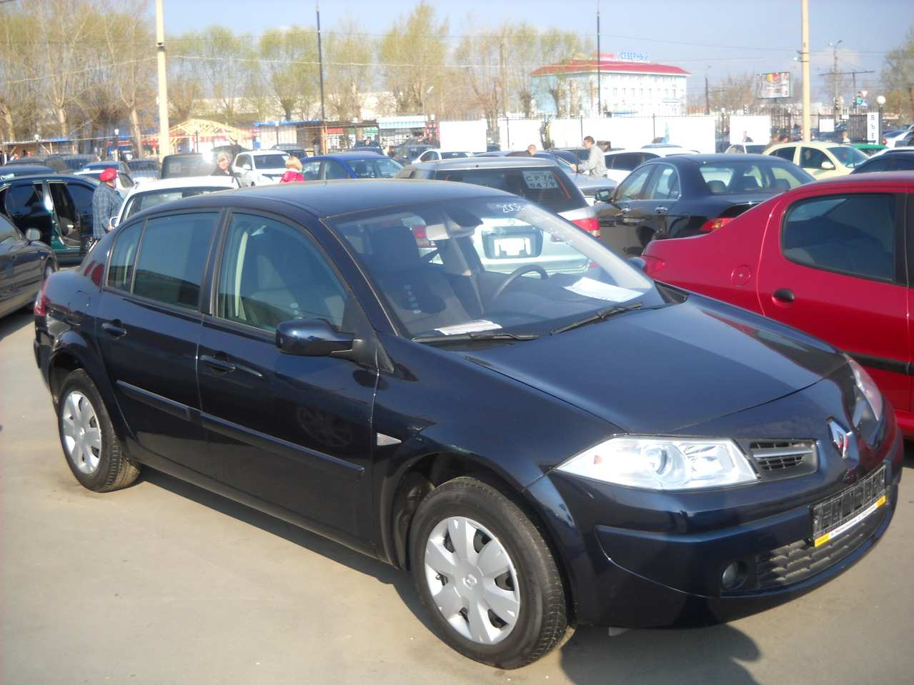 used 2008 renault megane sedan photos 1600cc gasoline ff manual for sale. Black Bedroom Furniture Sets. Home Design Ideas