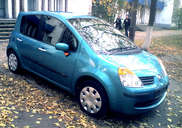 2005 renault modus pictures 1200cc gasoline ff manual for sale. Black Bedroom Furniture Sets. Home Design Ideas