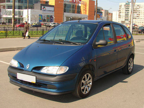 used 1999 renault scenic photos 1 6 gasoline ff manual. Black Bedroom Furniture Sets. Home Design Ideas