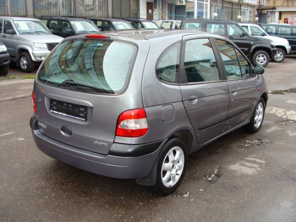 1999 renault scenic pictures 1600cc gasoline ff manual for sale. Black Bedroom Furniture Sets. Home Design Ideas