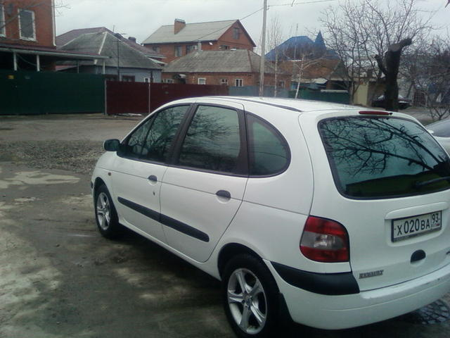 2000 renault scenic pictures gasoline ff automatic for sale. Black Bedroom Furniture Sets. Home Design Ideas
