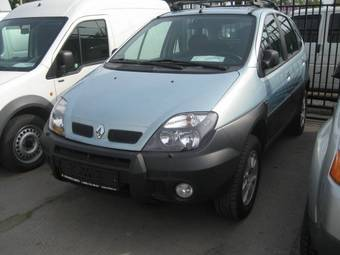 2001 renault scenic photos 2 0 gasoline manual for sale. Black Bedroom Furniture Sets. Home Design Ideas