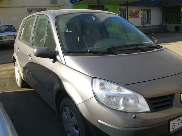 2004 renault scenic pictures 1598cc gasoline ff automatic for sale. Black Bedroom Furniture Sets. Home Design Ideas