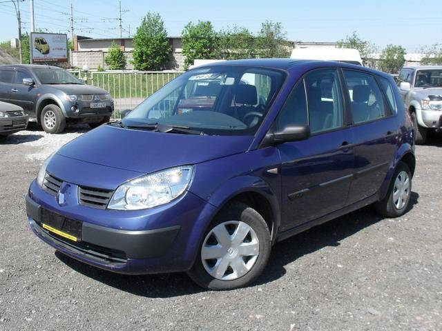 2004 renault scenic images 1600cc gasoline ff manual for sale. Black Bedroom Furniture Sets. Home Design Ideas